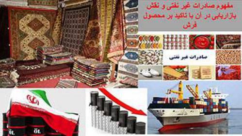 مفهوم صادرات غیر نفتی و نقش بازاریابی در صادرات فرش